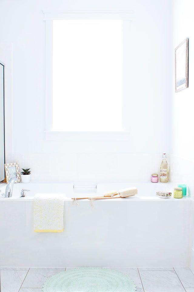 Digital Art Gallery Master Bathroom Decorations with World Market via ArmelleBlog