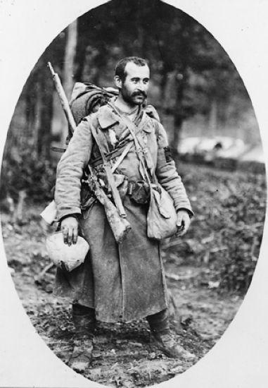 1914 1918 - Poilu de la Première Guerre mondiale