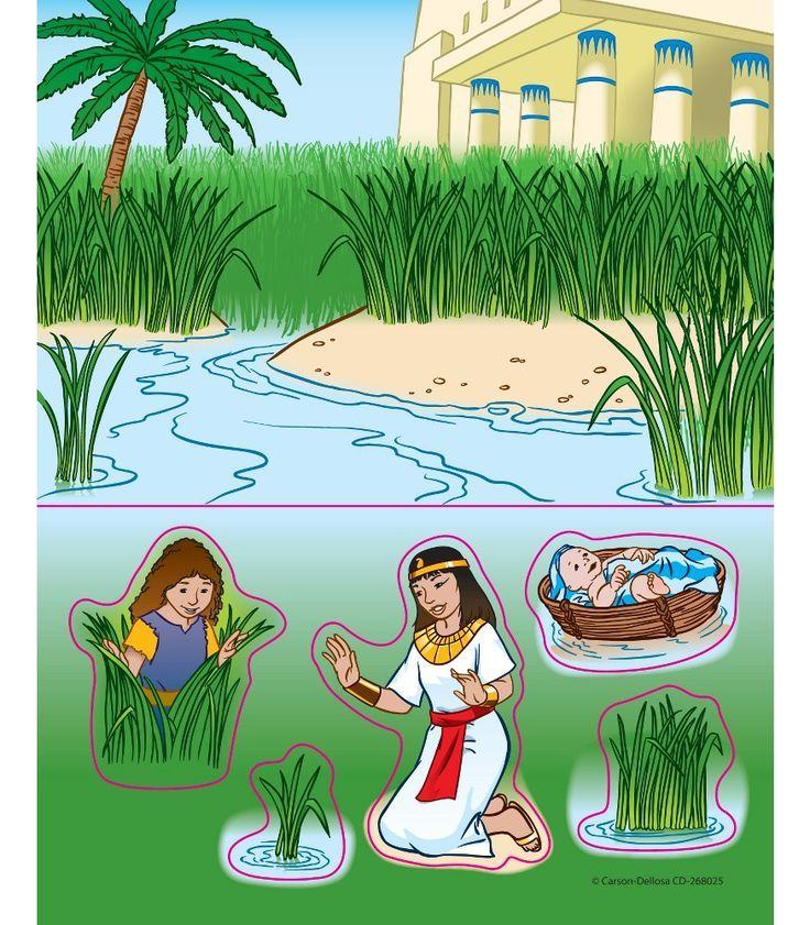 младенец Моисей