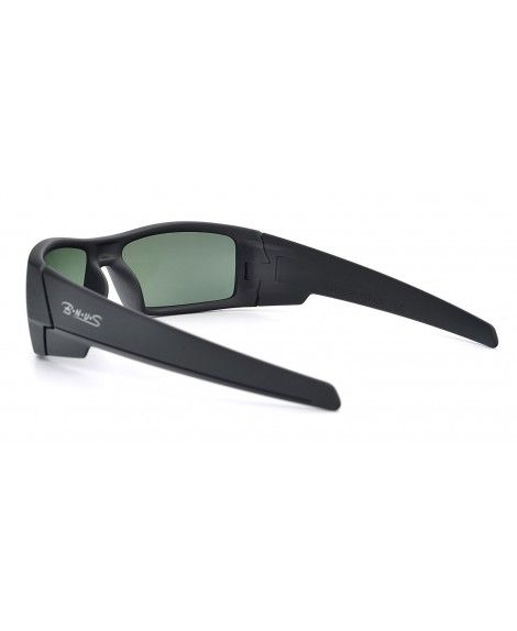 c01e56b75bb Ranger Rectangular Sunglasses Corning natural - Frame  Matte Black ...