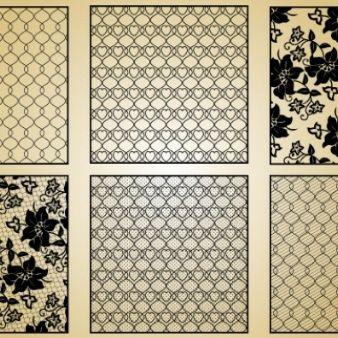 Lace pattern. Vintage style.