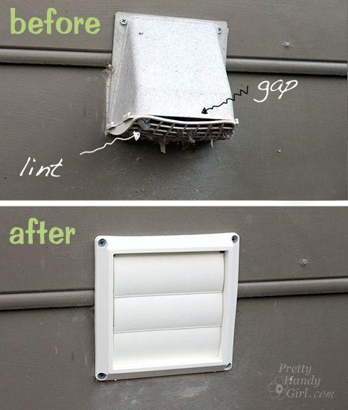 Semi-rigid dryer vent replacement
