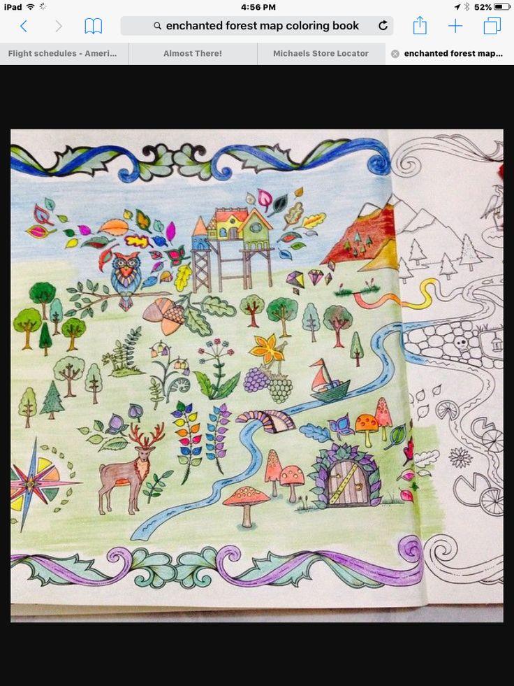 Enchanted Forest Coloring BookEnchanted BookAdult ColoringColoring BooksJoanna Basford Secret GardenJohanna BookBirdGardeningSecret