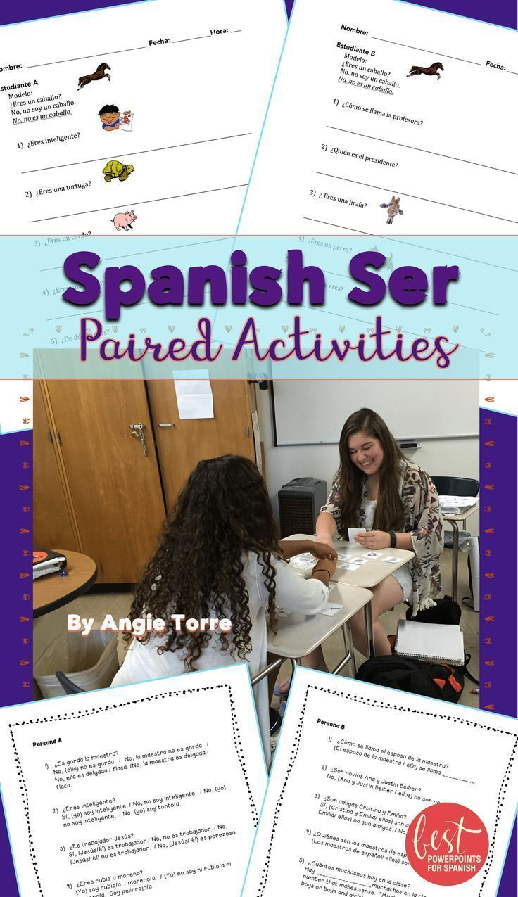 Workbooks expresate 1 workbook pdf : 61 best Verbos - ser/estar images on Pinterest | Spanish grammar ...