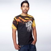 WWF and Satya Paul present to you 'Jungle Safari' a Limited Edition of designer T-shirts. These exclusive designs are the creative genius of Indian designer behemoth Satya Paul. Made from soft organic cotton & bamboo fabrics  by 'Do U Speak Green', each of these is a precious piece of art to be owned.      Unparalleled experiences of the roar of the majestic tiger to graceful dancing peacock to playful serenity of nesting birds all translate beautifully onto this exquisite collection.