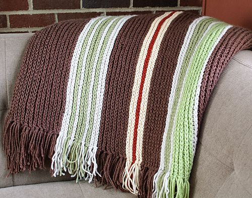 Knitting Vertical Stripes In The Round : Best images about crochet ii afghans blankets