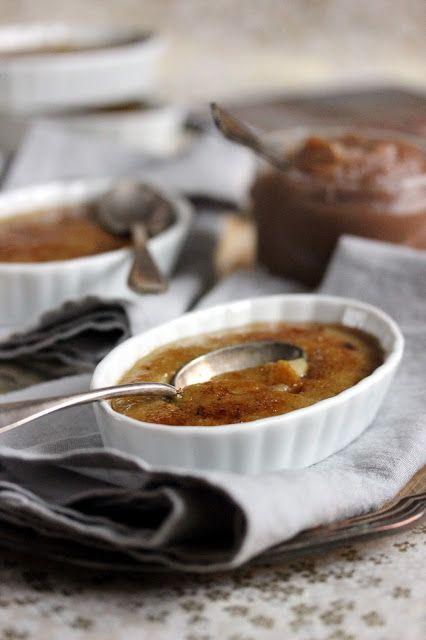 Dans la cuisine de Sophie: Les crèmes brûlées à la châtaigne de Linda Louis
