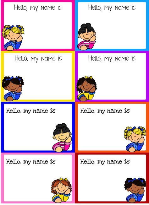 Free Back to School Name Tags are great for Kindergarten to Second Grade students. These name tags are perfect to identify your student's name and perfect for classroom and field trips. Each name tag is editable and I also add the pdf file. Available for boys and girls. Preschool   Preschool Name Tags   Kindergarten   Kindergarten Name Tags   First Grade   First Grade Name Tags   Second Grade   Second Grade Name Tags   Back to School   Back to School Name Tags