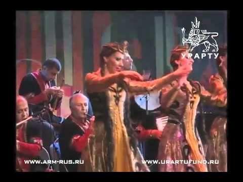 Пятидесятилетие Государственного ансамбля танца Армении 14   Танец с саб...