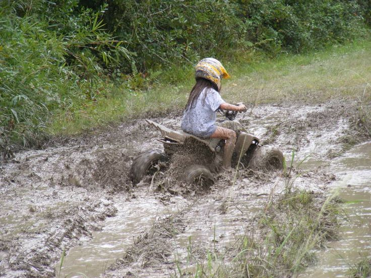 Oh my goodness @Jen Gillette  mud bogging on the 4-wheeler ... that was so us! Haha