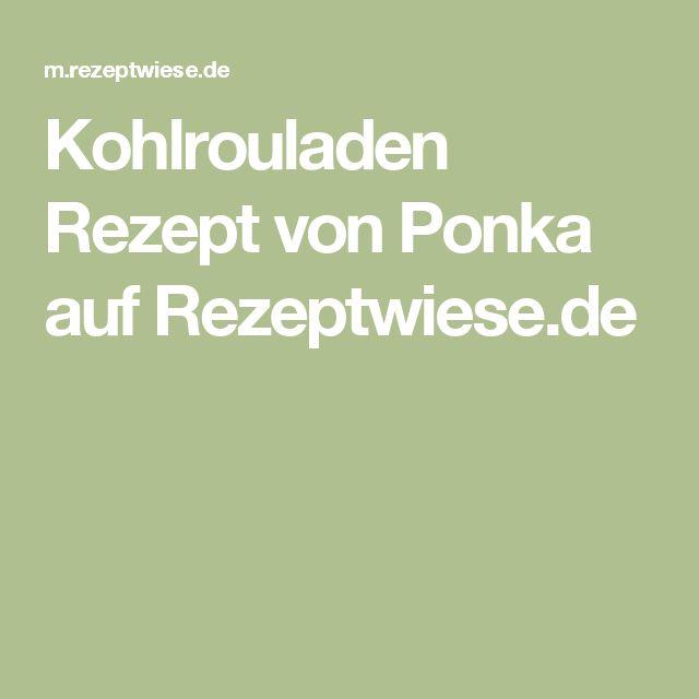 Kohlrouladen Rezept von Ponka auf Rezeptwiese.de