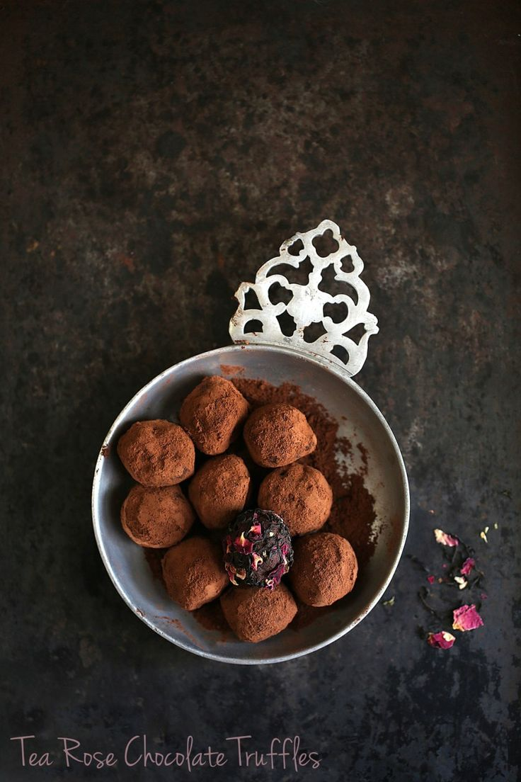 Tea Talk | Tea Rose Chocolate Truffles … a Teabox kind of Diwali #chocolate #tea # truffles