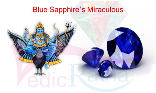 Blue Sapphire is a precious gemstone and his planet is Saturn (Shani). This gemstone is help in Saturn and sade sati period Buy this online vedicratna.com