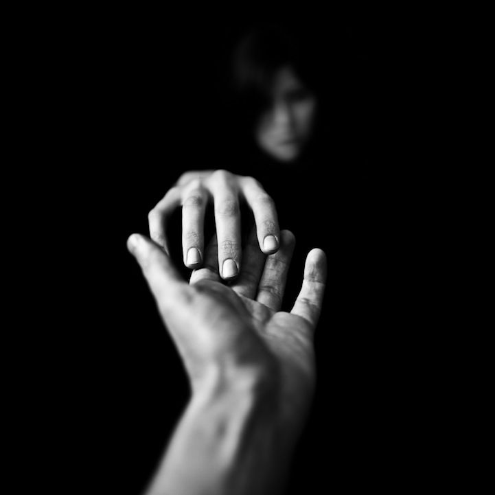 "Dramatic black & white photography by Benoit Courti.  ""Illuminating simple subjects, minimal compositions whilst preserving a strong expressiveness,"" Courti says was the thought behind this series called Deep Black."