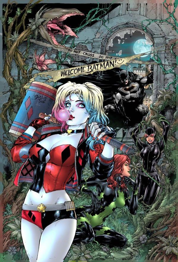Overdose de Arlequina! Veja todas as capas da nova série Harley Quinn | Omelete