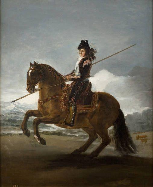 Goya en el Prado: Un saltador de pértiga