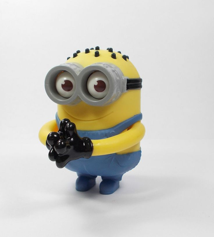 Despicable Me - Minion - Tom - Googly Eyes Grabber - Toy Figure - Cake Topper