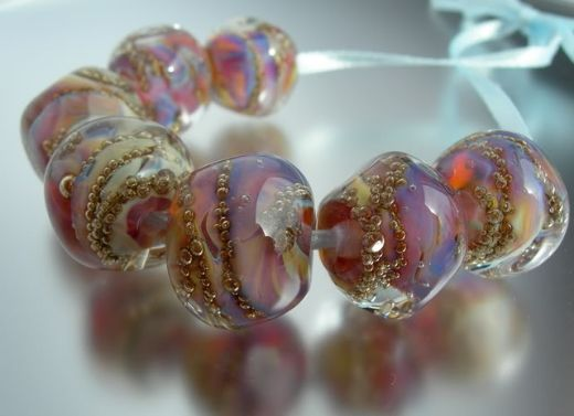 brass frit golden bubbles information and sharing lampwork etc