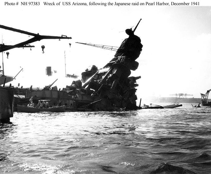 an analysis of the uss arizona in world war two The role pearl harbor played in world war 2 was major  the sinking of the uss arizona ended the story  of war united states naval institute analysis of.