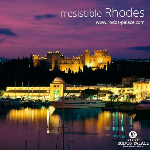 Visit our country, visit our island!  www.rodos-palace.com #OldCityofRhodes #Rhodes #RodosPalaceHotel #Greece #Hotel