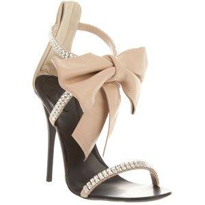 Cute: Giuseppezanotti, Fashion, Giuseppe Zanotti, Style, Bow, Shoes Shoes