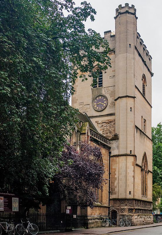 Oxford Church Tower St Mary Magdalen is a Church of England parish church in Magdalen Street, Oxford, England. The church is just to the north of the former city wall. The church in its current form was built in 1194.