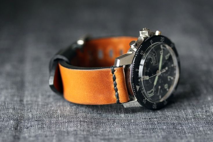 M1 HORWEEN RYE SINN1 Horween Watch Straps by Worn & Wound