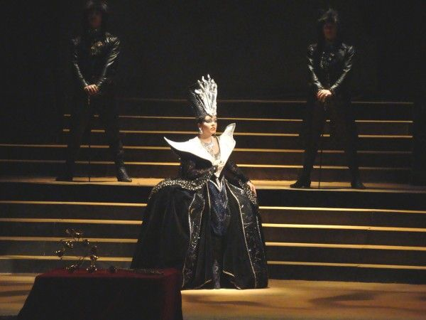 Die Zauberflöte ~ Wolfgang Amadeus Mozart ~ Stage Director/Ladislav Štros ~ State Opera Orchestra, State Opera Chorus, Czech National Opera Ballet. The Queen of the Night/Anna Todorova.