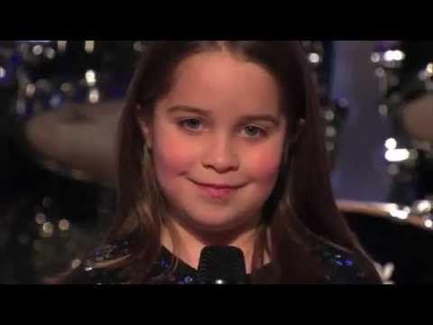 6-Year-Old Aaralyn Scream Her Original Song Zombie Skin - America's Got Talent 2013