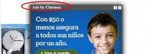 Ads by Cinemax est un code d'adware ennuyeux en raison du fait qu'il est développé par des pirates