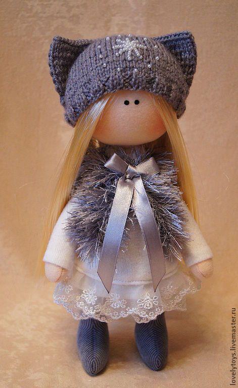 Купить текстильная кукла ALISA - текстильная кукла, авторская ручная работа, авторская кукла