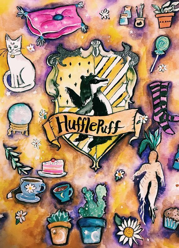 Hufflepuff Etsy In 2020 Harry Potter Wallpaper Hufflepuff Wallpaper Hufflepuff