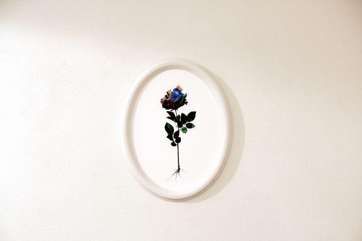 """Fior di Pelle""(part) - fine art digital print, salt; (foto Roberta Filippelli)"