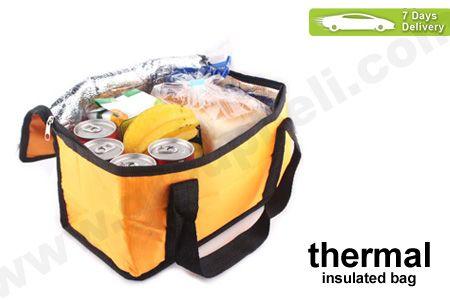 Lengkapi makanan dan minuman saat piknik bersama keluarga dengan Thermal Insulated Bag hanya Rp 38.000 http://groupbeli.com/view.php?id=601