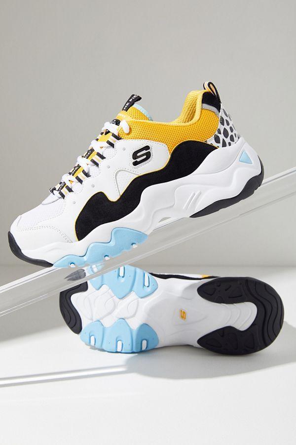 Skechers X One Piece D Lites 3 Sneaker Skechers Sneakers