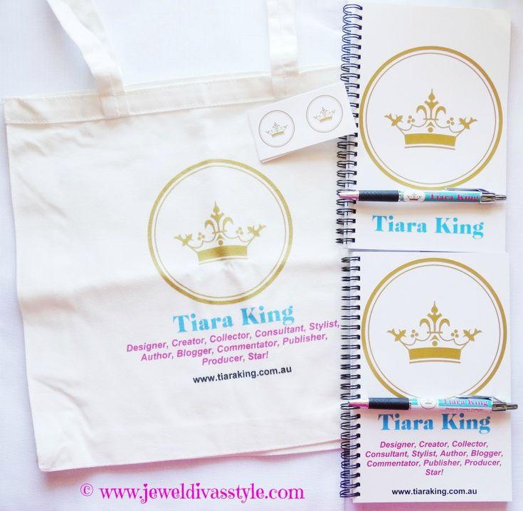 JDS - Brand New Tiara King Goodies From Vistaprint, on the blog - http://jeweldivasstyle.com/brand-new-goodies-from-vistaprint/