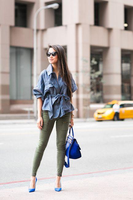 Colors :: Khaki & Blue