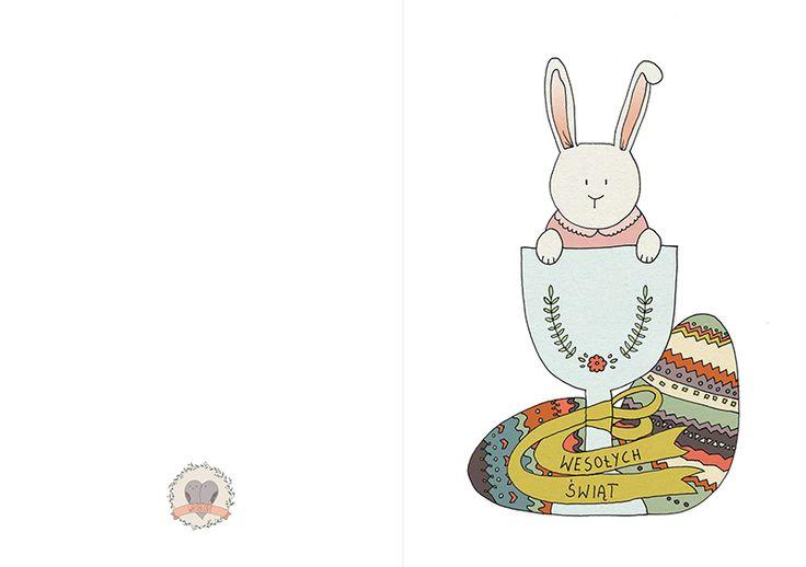 Wróblove | Skandynawski handmade: Darmowe kartki Wielkanocne do pobrania