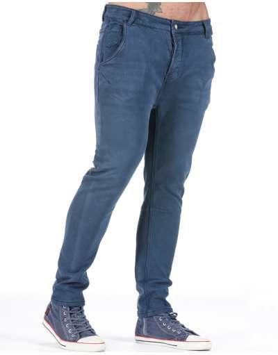 ΑΝΔΡΙΚΑ ΡΟΥΧΑ :: Παντελόνια :: Παντελόνι Elastic Form Blue - OEM