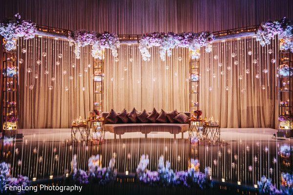 Indian Wedding Reception Stage Decor In Nashville Tn Indian