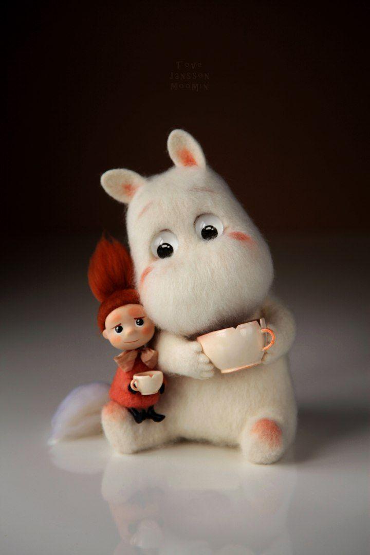 Moomintroll, Tove Jansson, Fetreno, felt toy.