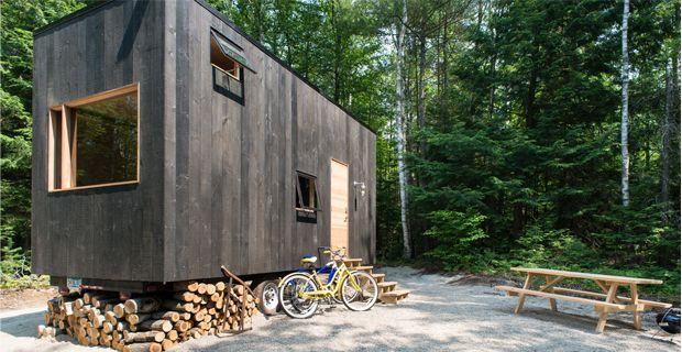 Getaway piccole case mobili per brevi vacanze nella for Mobili per case piccole