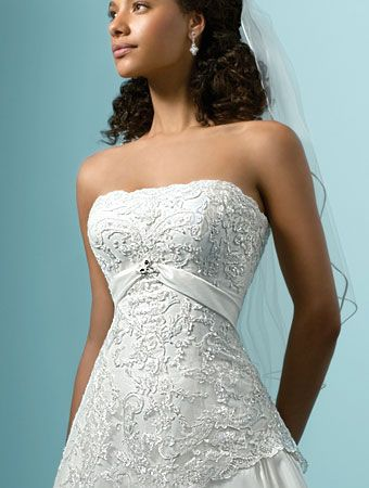 inexpensive wedding dress