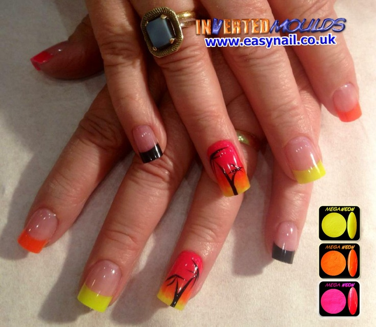 51 Best Acrylic Nail Designs Images On Pinterest