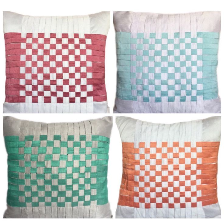 Check out these beautiful checkered pillow covers at - TheWhitePetalsDecor