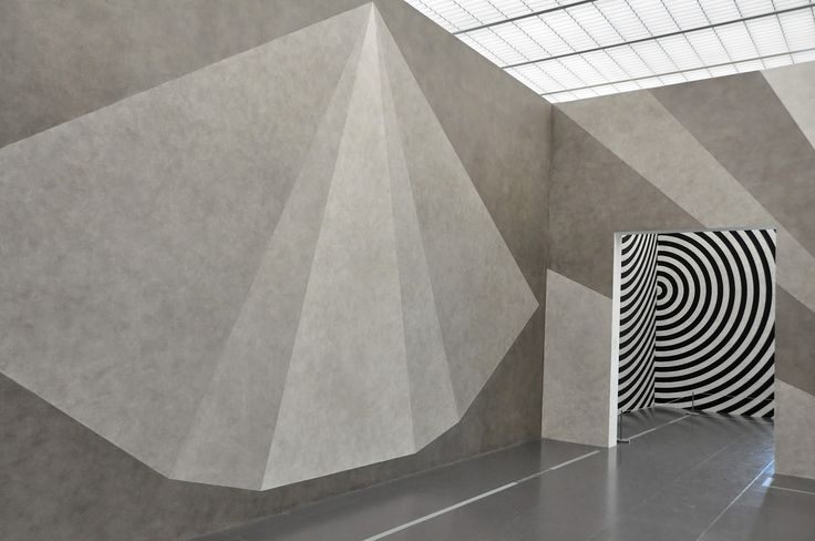 Sol LeWitt, Wall Drawing #542 and #479, at Centre Pompidou, Metz.