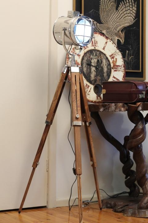 1000 images about industrial tripod floor lamps on for Eden 3 light tripod floor lamp chrome