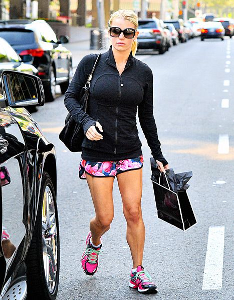 MY DREAM BODY! Jessica Simpson Wears Running Shorts at Dermatologist Visit: Picture - Us Weekly