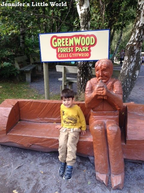 Jennifer's Little World blog - Parenting, craft and travel: Greenwood Forest Park, Gwynedd, Snowdonia