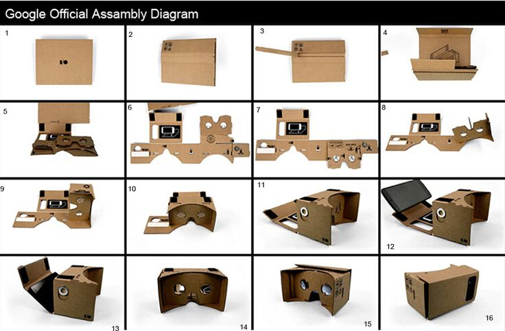 """High quality DIY Google Cardboard Virtual Reality VR Mobile Phone 3D Viewing Glasses for 5.0"""" Screen Google VR 3D Glasses"""